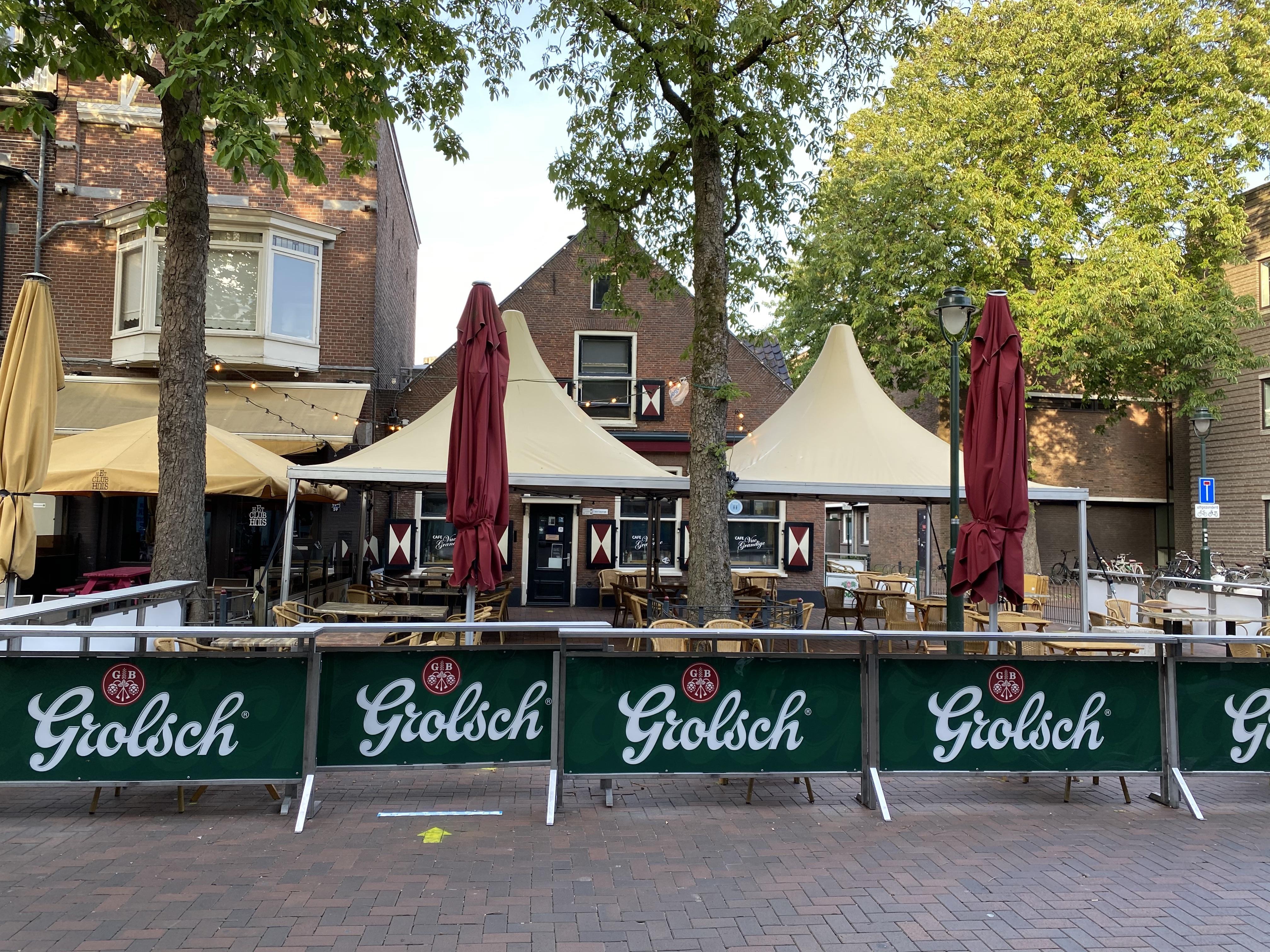 Zo zien de nieuwe terrassen in Hilversum eruit [video]