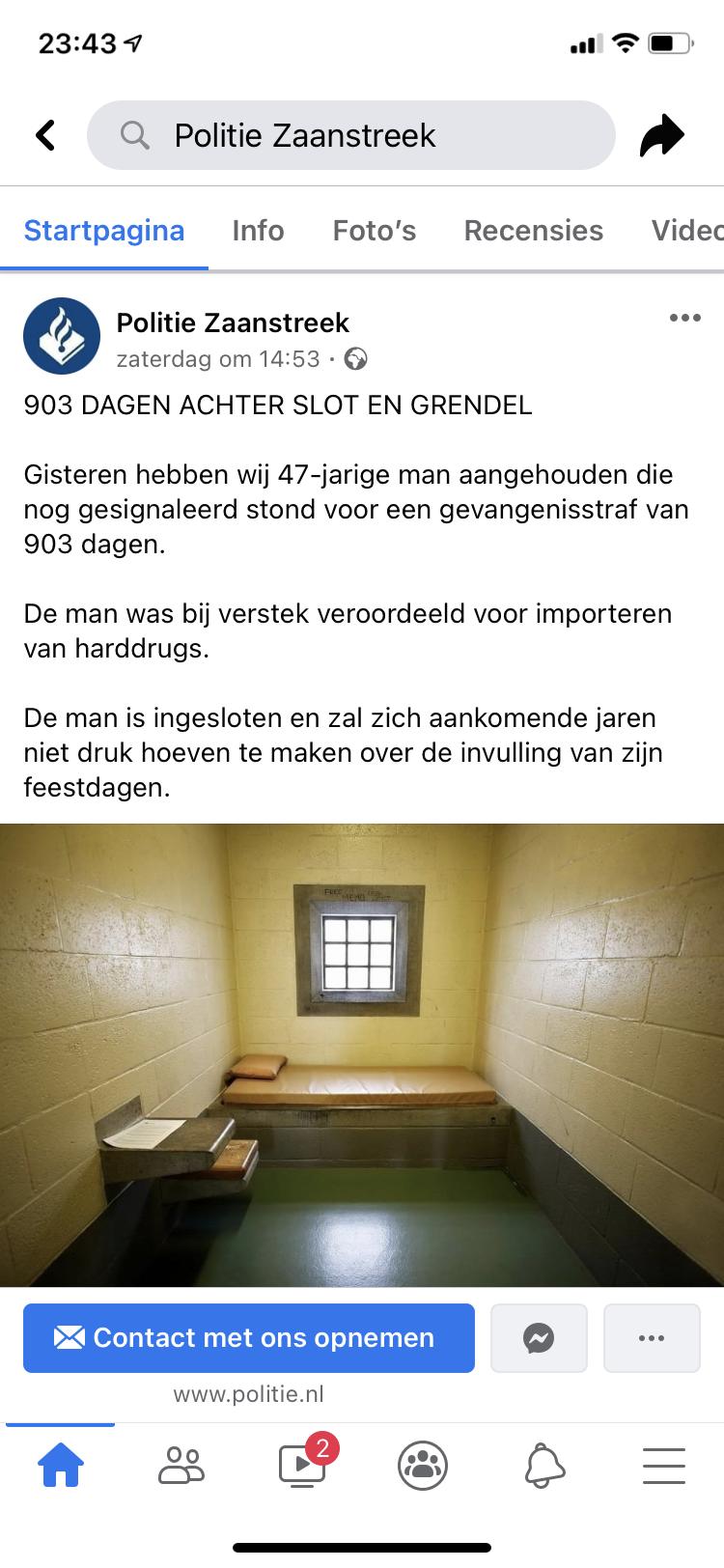 Politie Zaanstreek is een hit op Facebook met afwijkende lollige toon, maar is het niet teveel vermaak en strijd om volgers? 'We moeten wel geloofwaardig blijven'