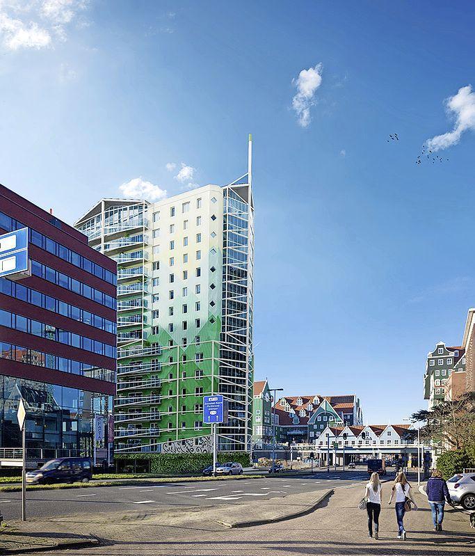 Catharinatoren in Zaandam, plan uit 2011 komt in de buurt van de finish