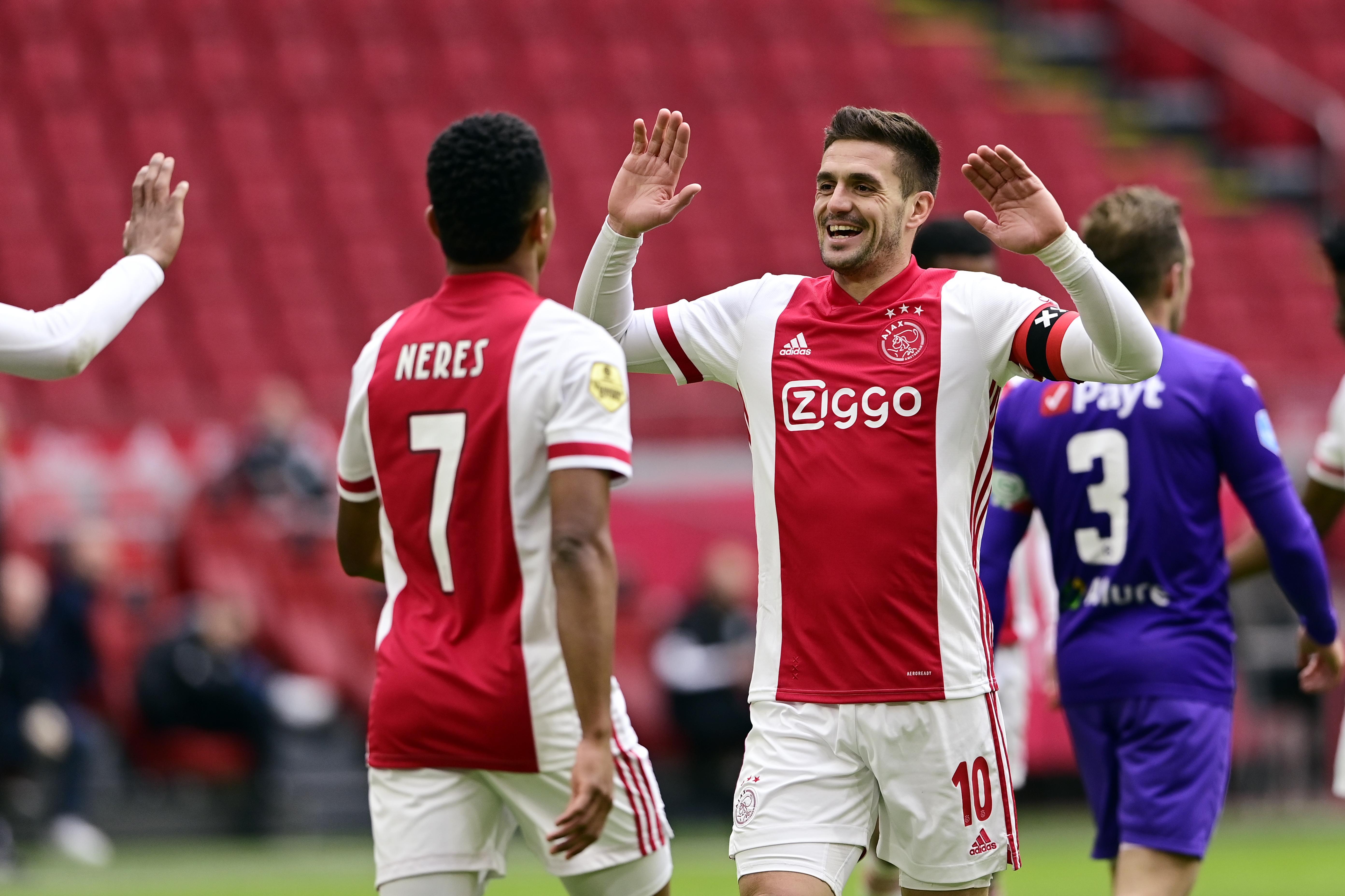 Ajax is ook veel te sterk voor FC Groningen