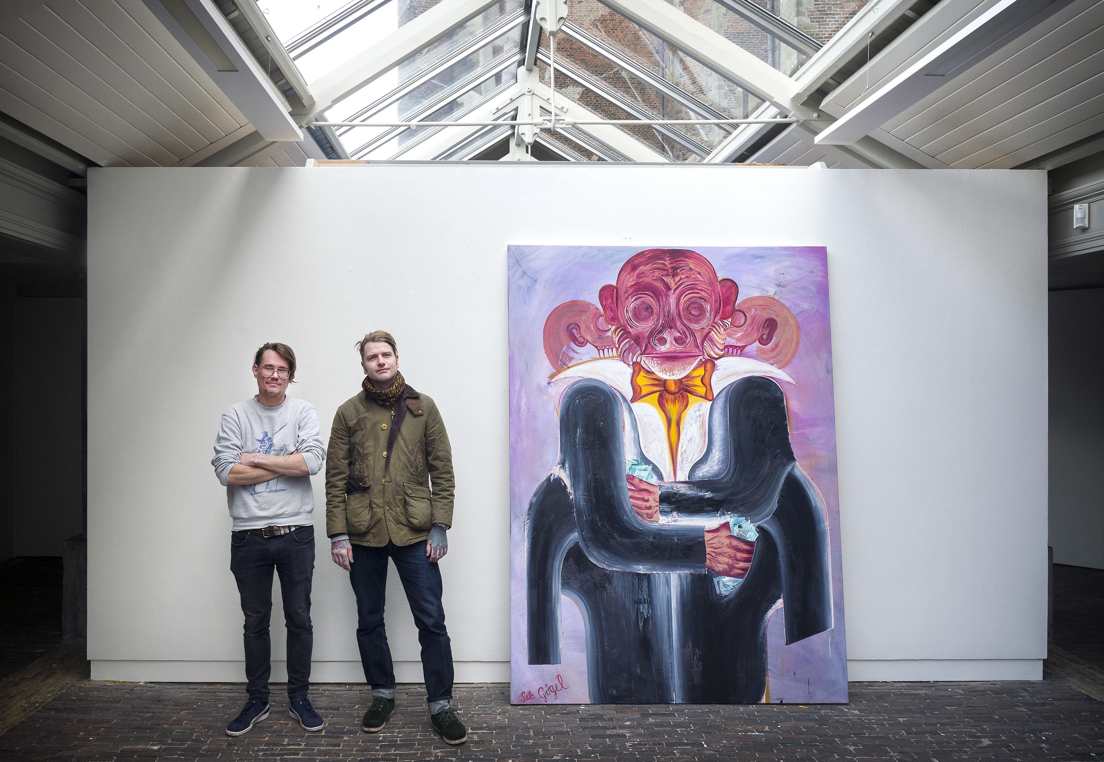 Rutger van der Tas maakt expositie 'Highly volatile' in Vishal