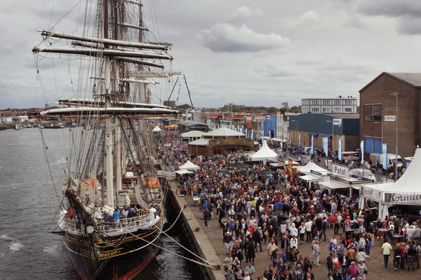 Martijn Fischer op Havenfestival