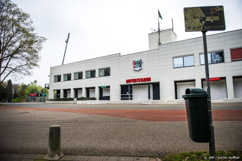 NEC krijgt weer meer tijd om Goffertstadion te kopen