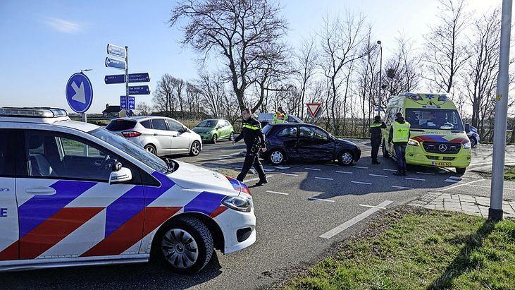 Twee gewonden bij auto-ongeluk in Koedijk