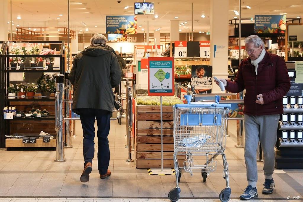 Supermarkten twee keer per dag uur open voor kwetsbare groepen