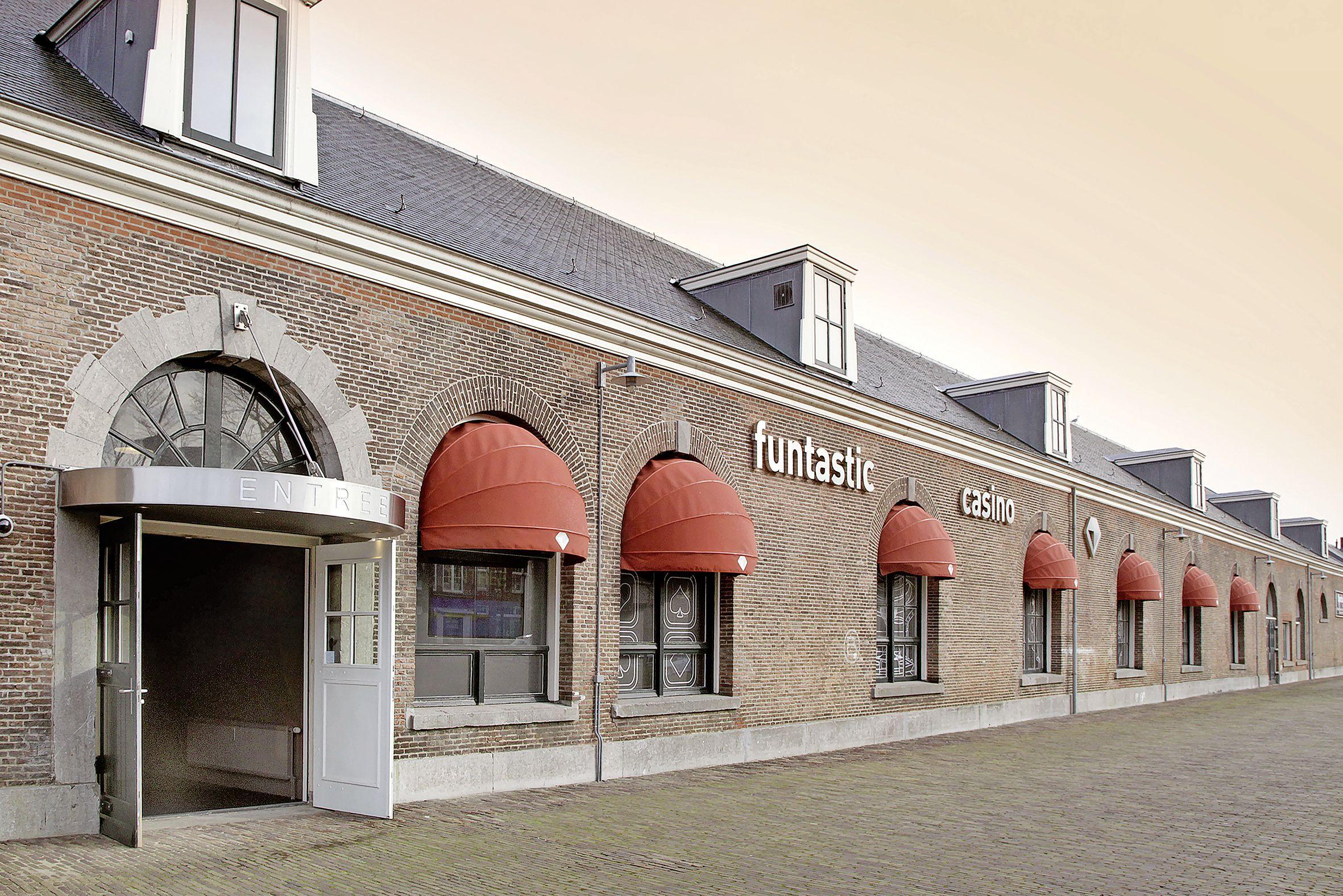 Funtastic Casino op Willemsoord gaat op 17 april bij wijze van proef open. Wie wil meedoen moet een coronatest ondergaan