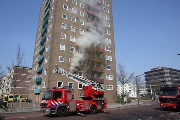 Haarlemse (32) stak eigen flatwoning in Schalkwijk in de brand. 'Ik was zwaar onder invloed van drugs'