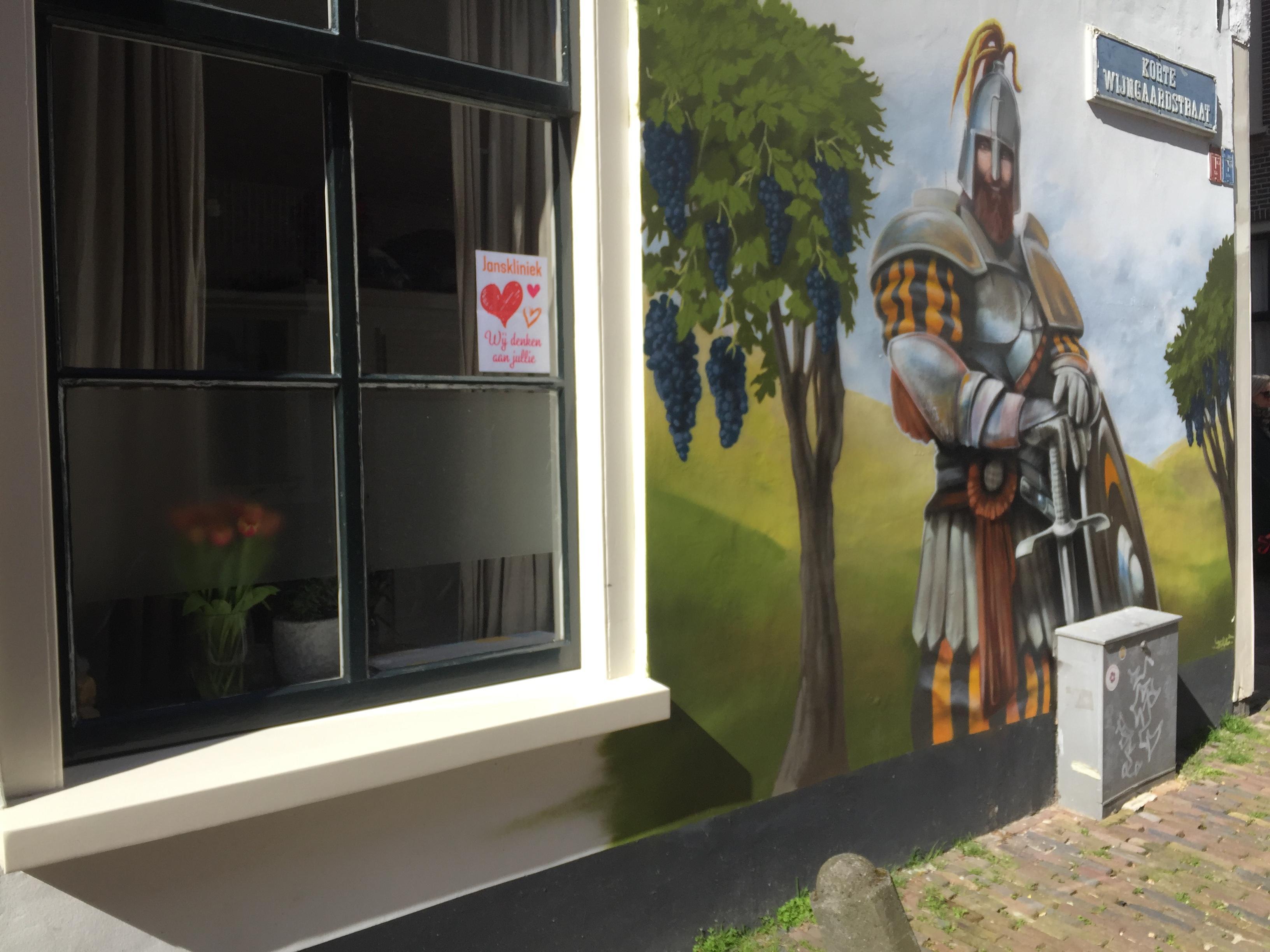 Hart onder de riem voor Haarlemse Janskliniek van buren