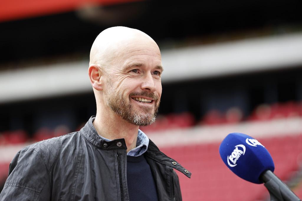 Trainer Ten Hag is nog niet klaar bij Ajax