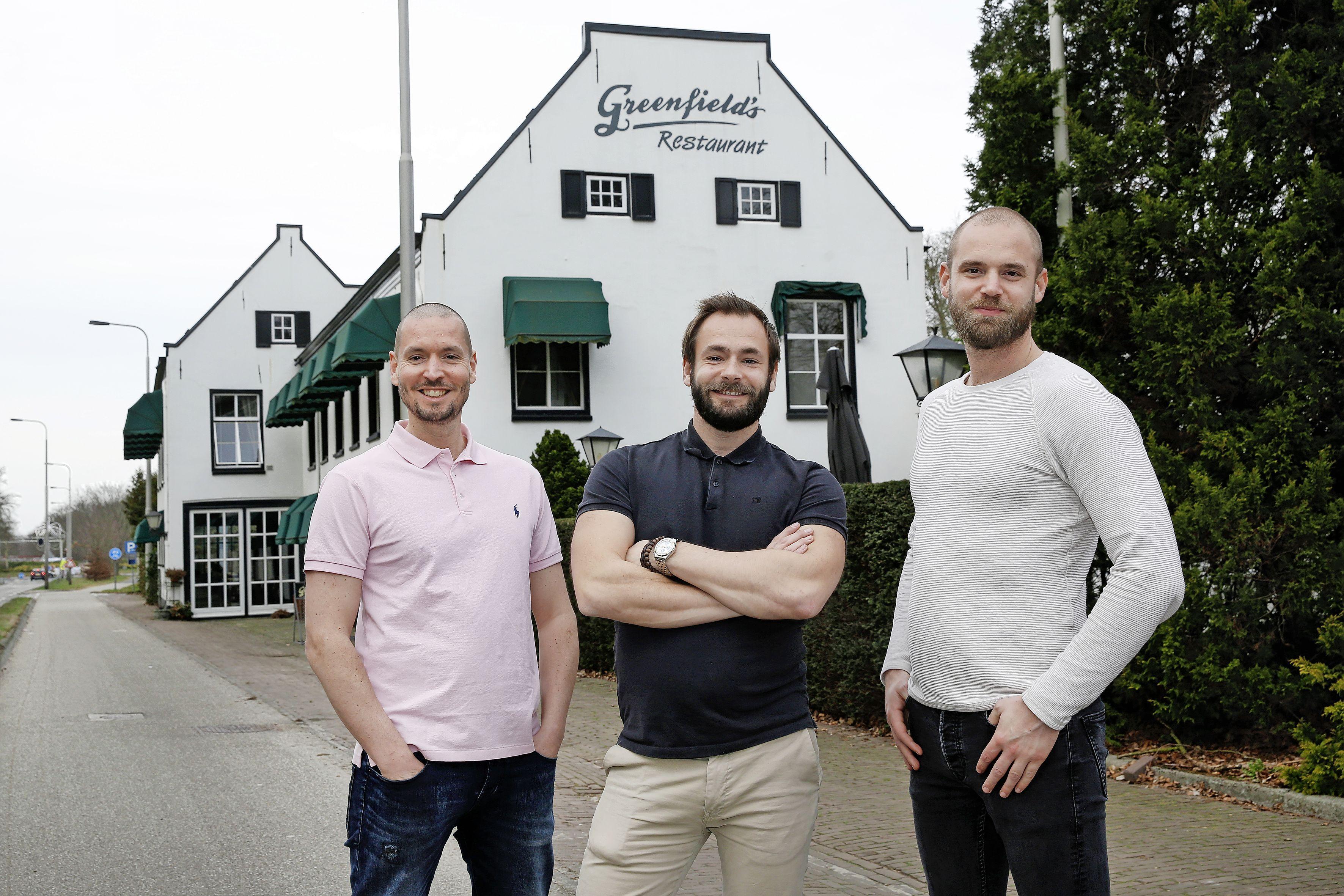 Baarnse horecabroers Demmers nemen Greenfield's over, opening op zijn vroegst in de zomer; 'Het krijgt bijna zeker een nieuwe naam, maar we weten nog niet wat'
