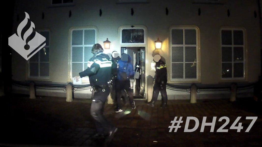 Inbreker op heterdaad betrapt bij woning in Lisse