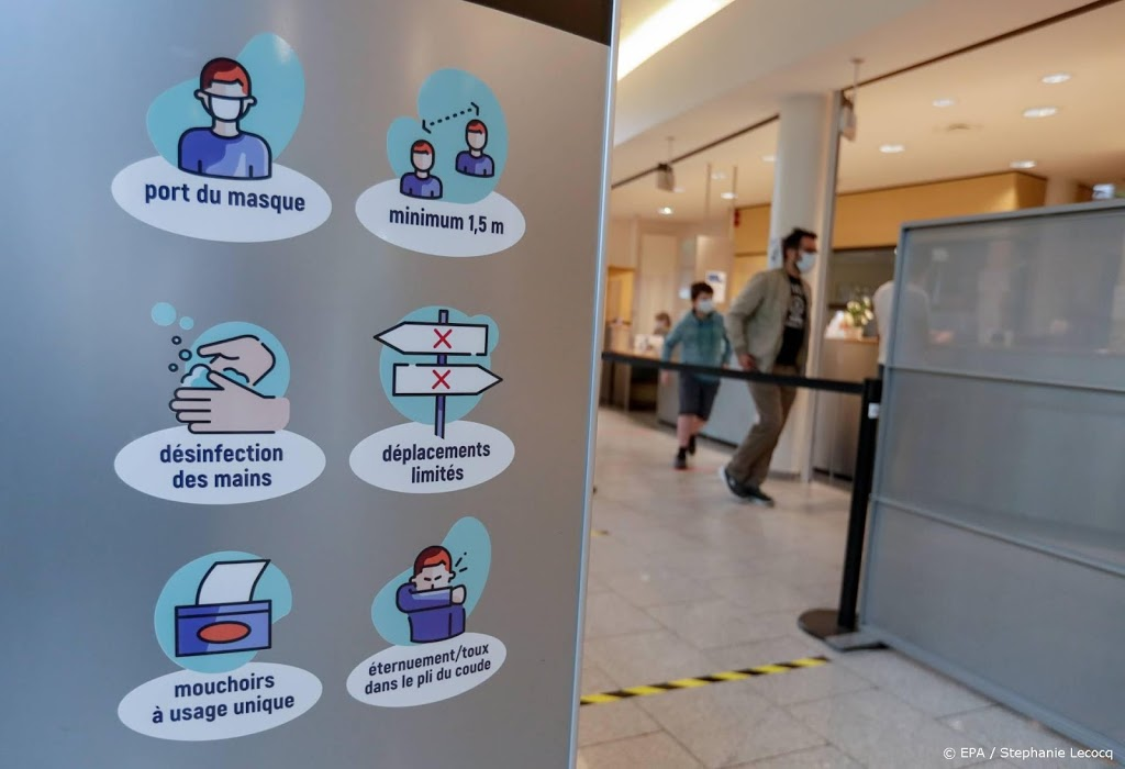 Aantal ziekenhuisopnames in België richting 3000