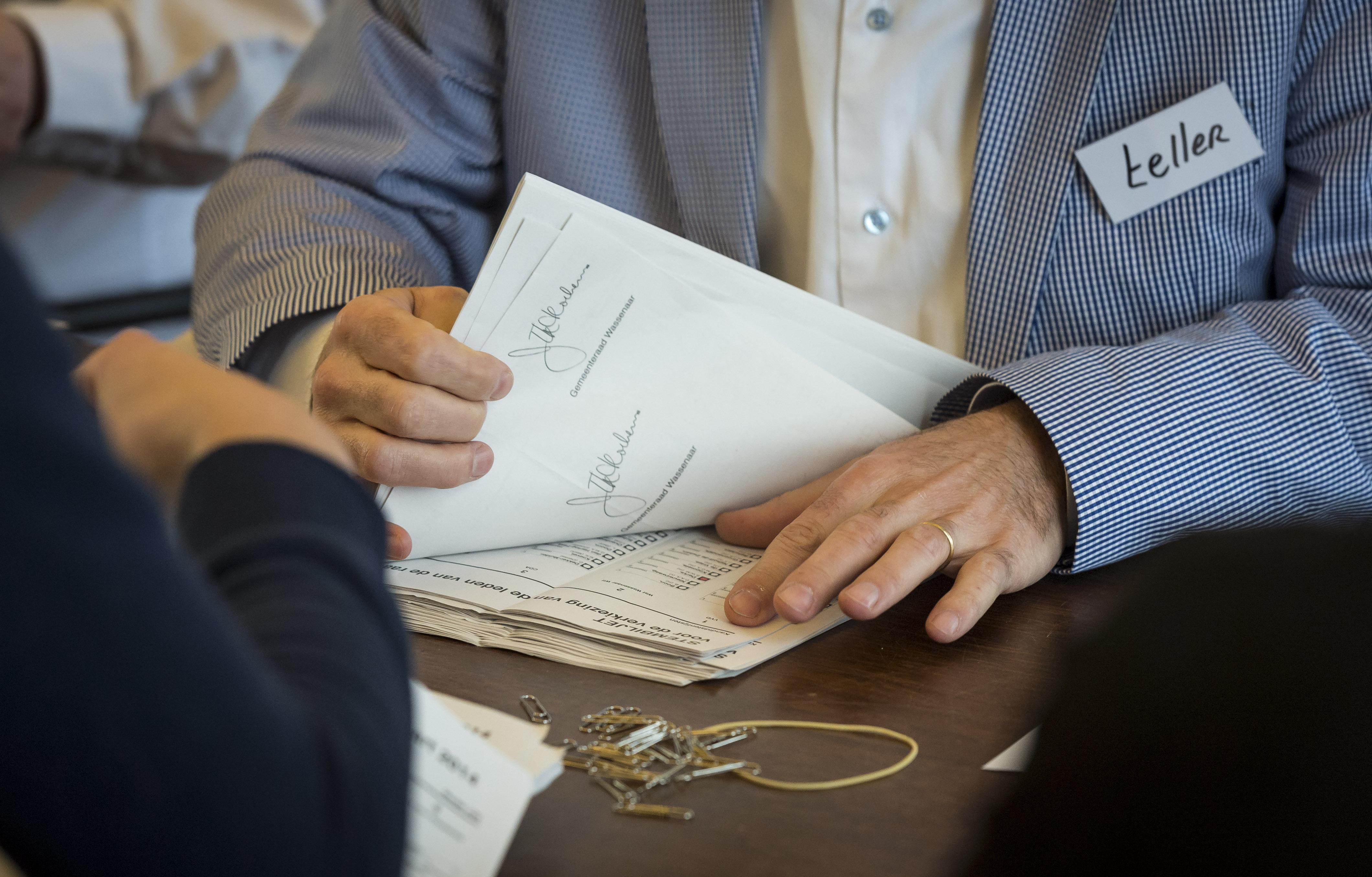 Uitgeslapen tellers Landsmeer turven na verkiezingen 12 stemmen minder
