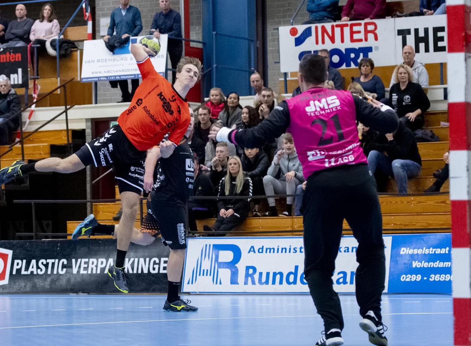 Handballers Volendam afgevallen voor EK-kwalificatieduels