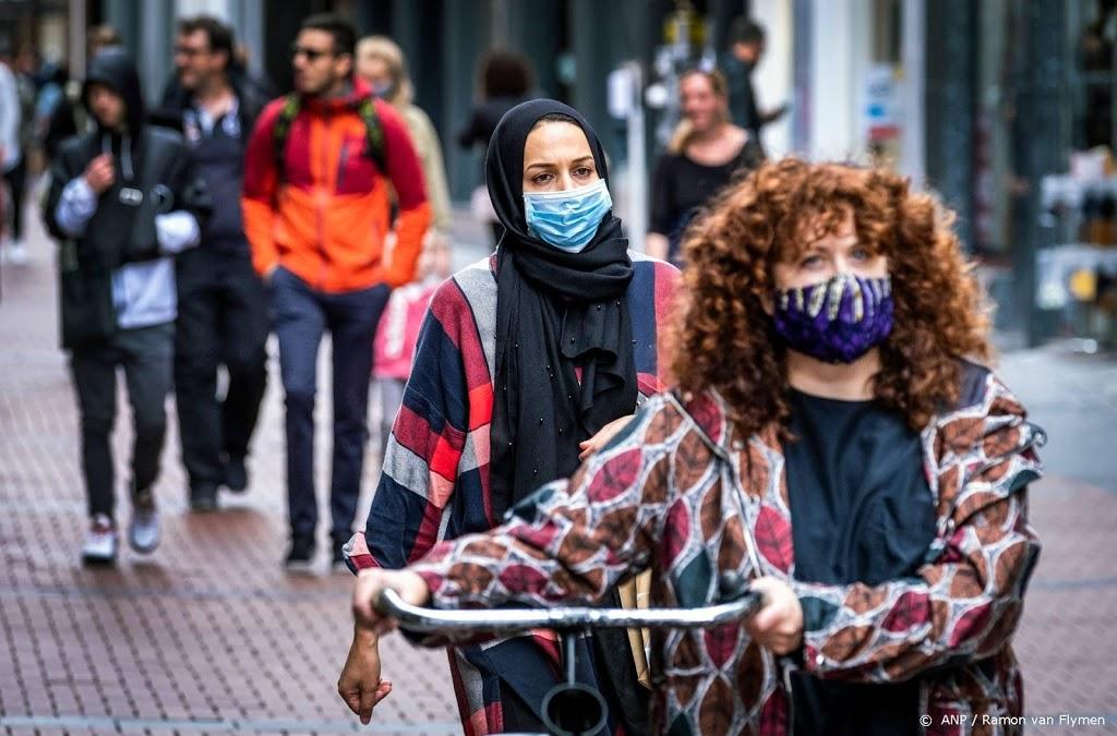 Mondkapjesadvies in winkels in drie grote steden Randstad