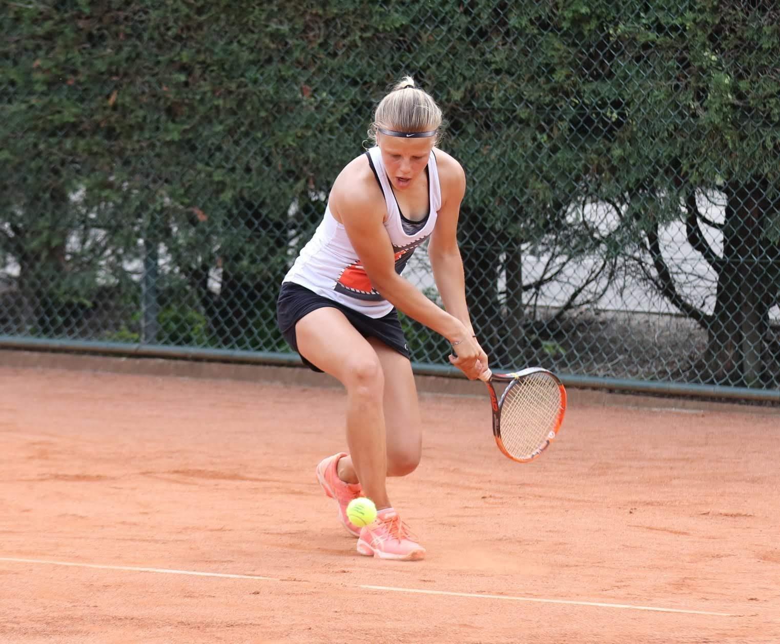Talentvolle Sijbesma wil via 'Bertens-route' naar de tennistop