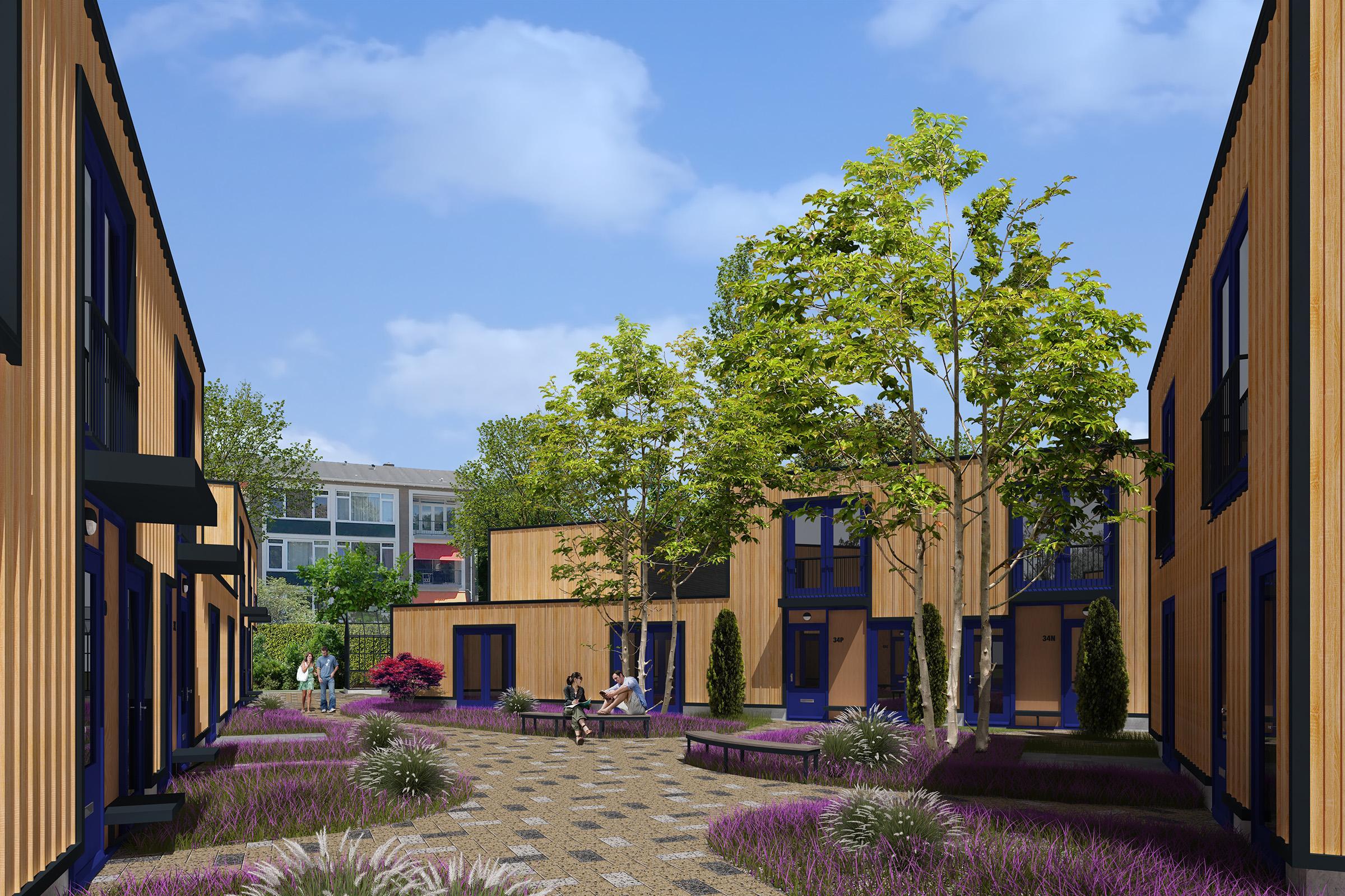 Overweldigende belangstelling voor nieuwbouwplan De Groene Gooyers in Hilversum