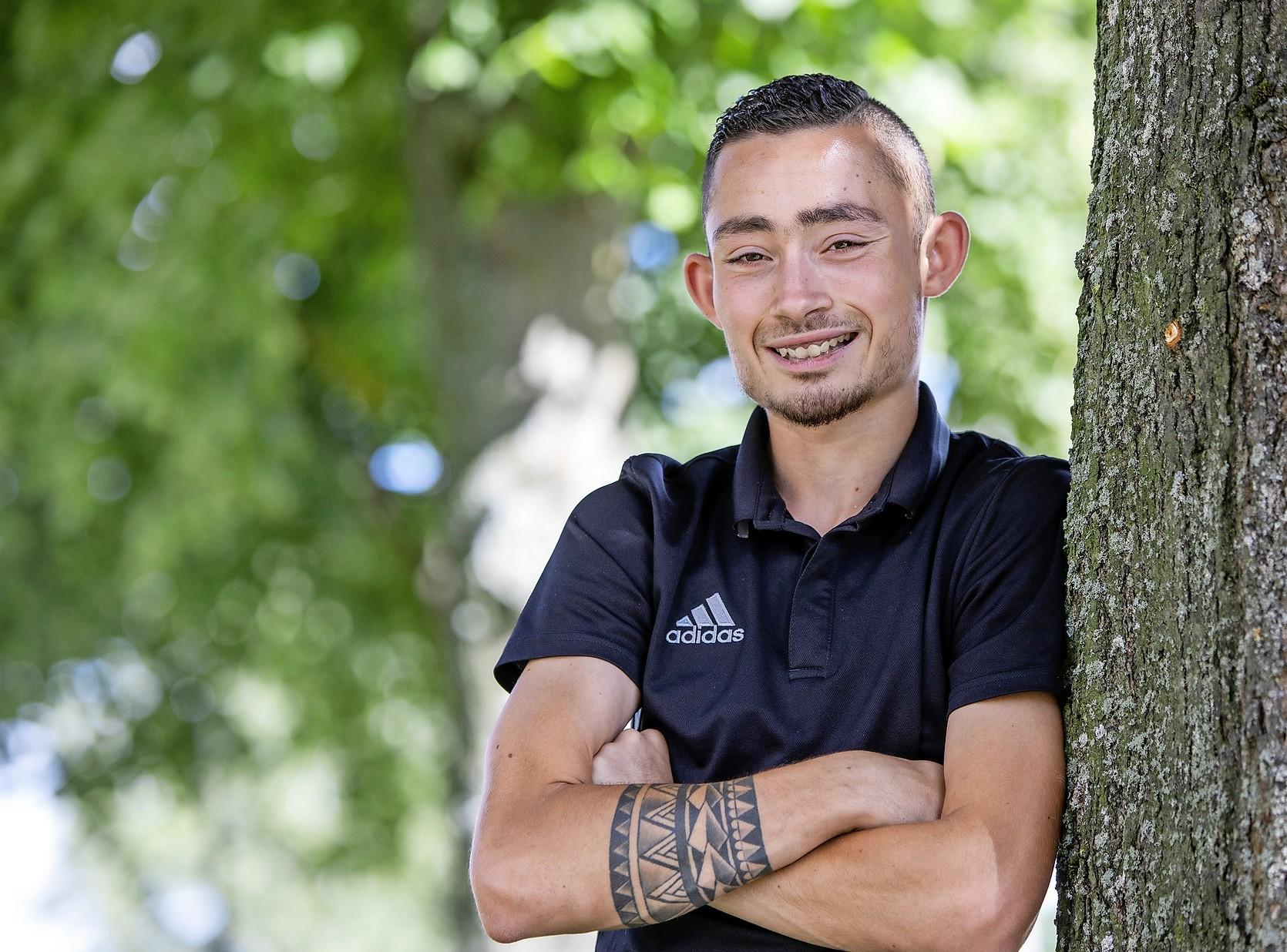 Verdediger verruilt Olympia Haarlem voor RCH: Ergens vol voor gaan zit ingebakken bij Wesley Wijnands