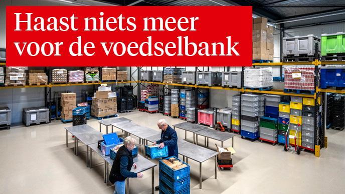 Hamsterwoede dupeert voedselbanken in de regio Haarlem