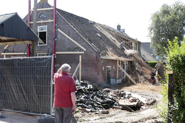 Oude Huizer boerderij ondergaat metamorfose