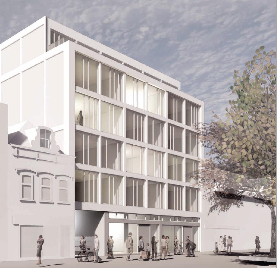 Mogelijk nog meer nieuwe appartementen aan de Breestraat in Beverwijk. Door KPN-gebouw niet te slopen maar te transformeren