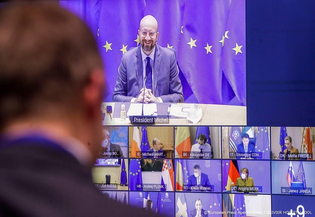 EU-leiders vol met vragen over aanvoer vaccins