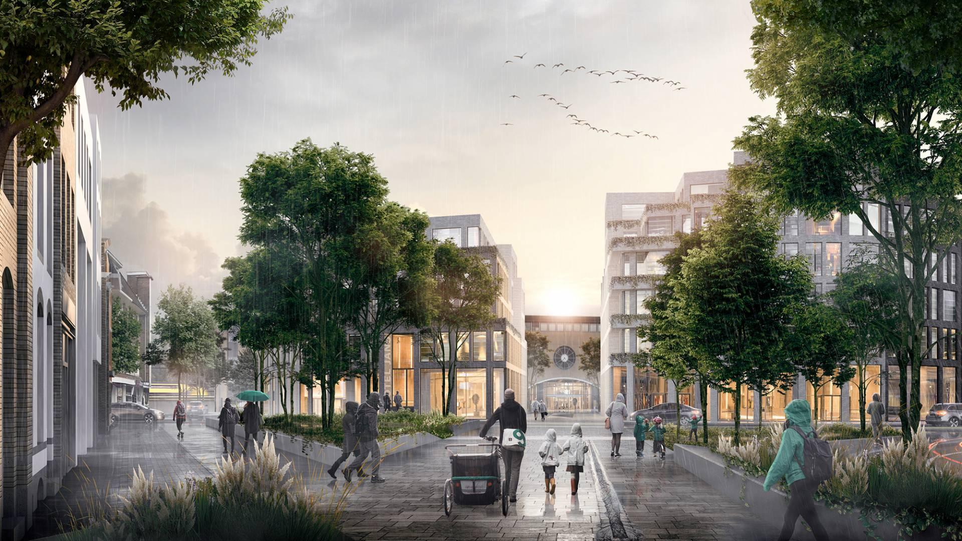 Veel zorgen om geluidsoverlast bij nieuwe plannen Hilversums stationsgebied