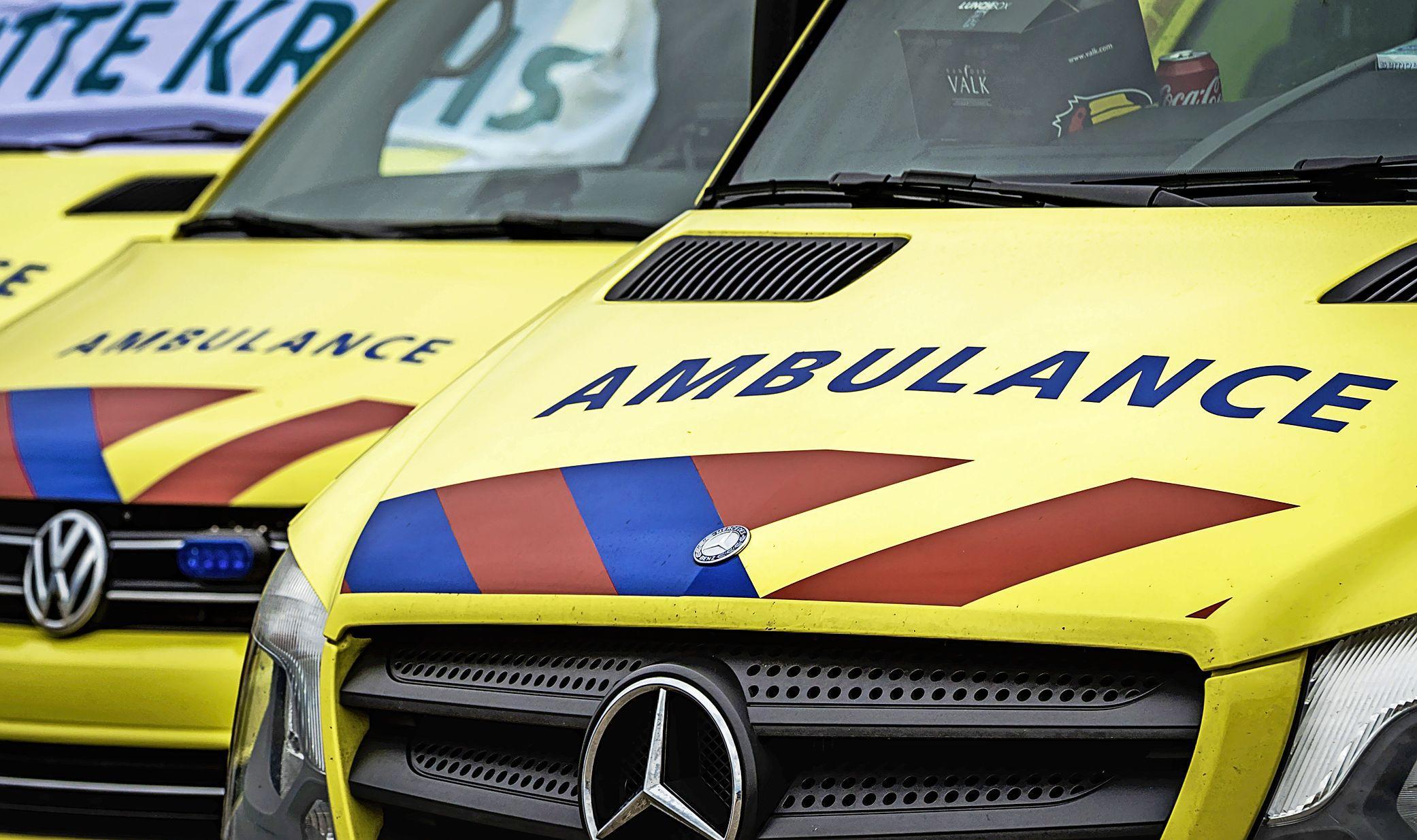 Ambulance rukt zo'n 3350 keer minder voor 112-spoedgevallen uit: aantal ongelukken vooral gedaald door thuiswerken
