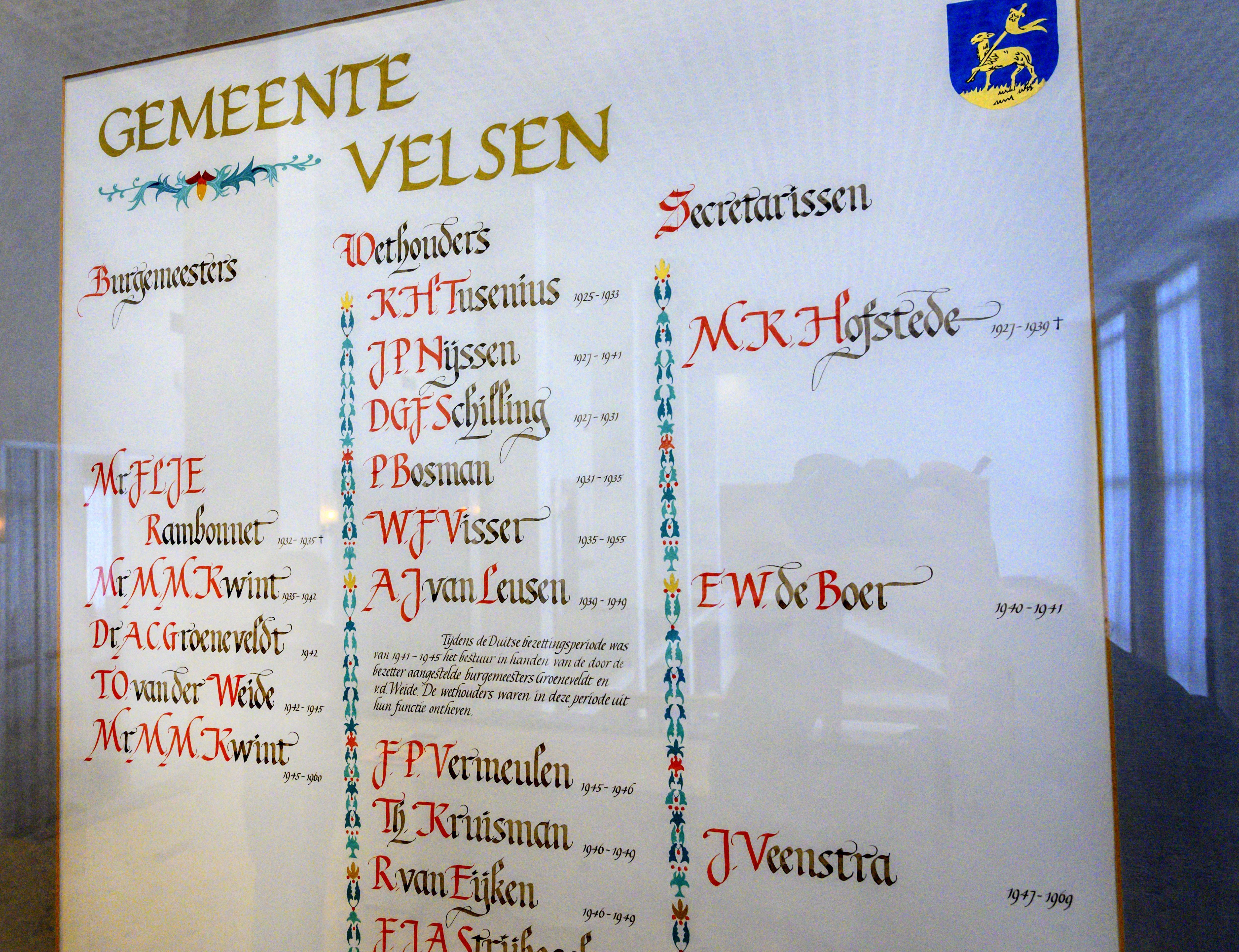 De Velsense NSB-burgemeester Tjeerd van der Weide vond zichzelf 'mans genoeg' om het verzet eigenhandig 'in de kiem te smoren'