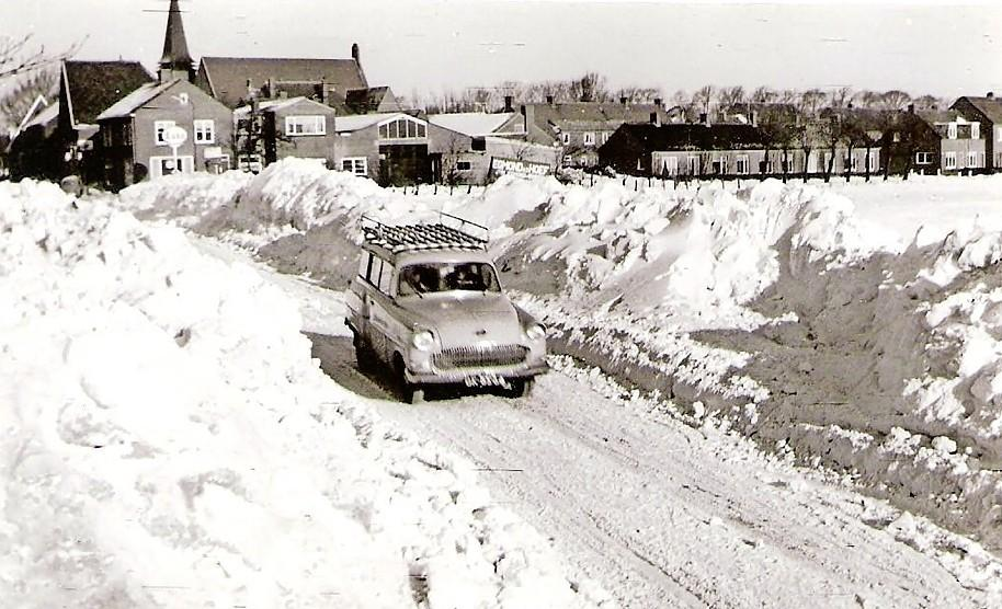 O, die mooie enge sneeuw! Ook aan de kust kan het spoken