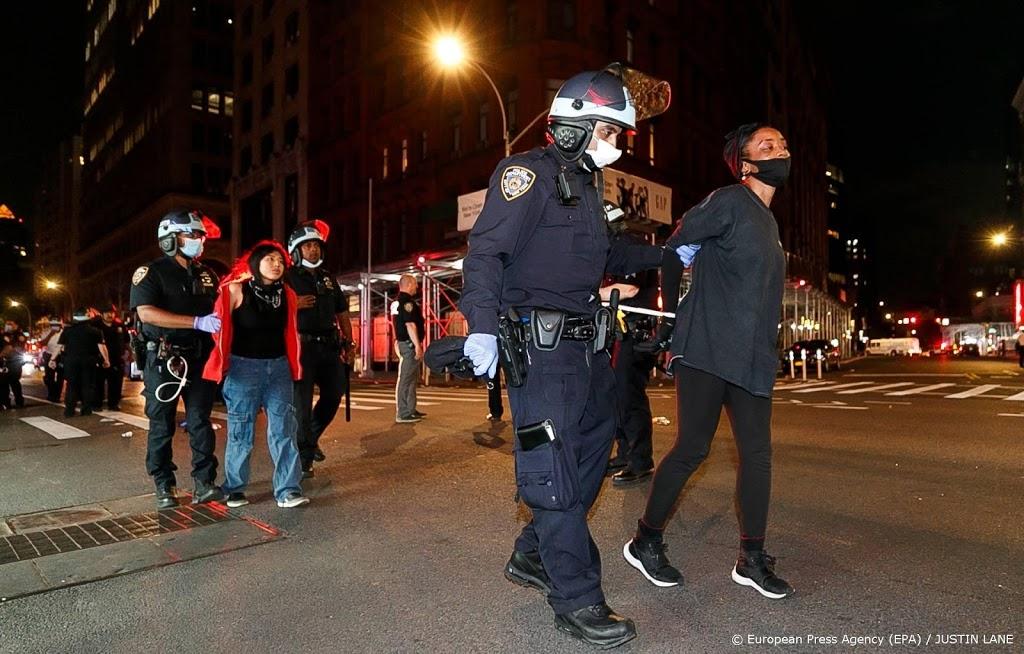 Aanklacht tegen New York voor geweld tegen antiracismebetogers