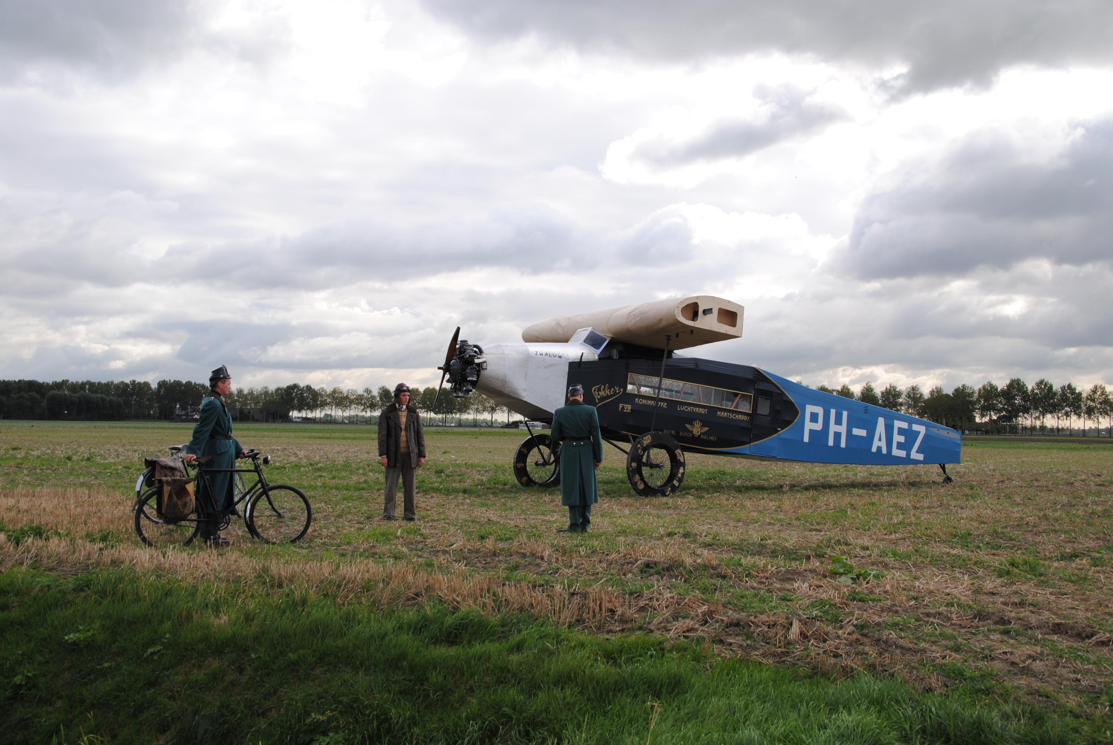 Nederlands Transport Museum in Nieuw-Vennep walhalla voor Fokkerianen