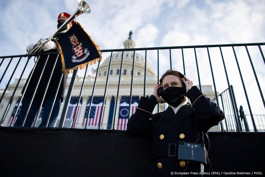 In Washington liggen de zenuwen bloot in aanloop beëdiging