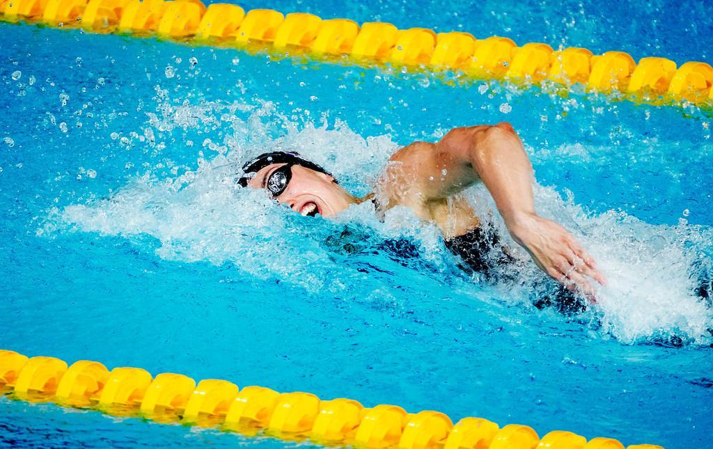 Van Vliet en Heemskerk naast podium op 50 vrij op EK zwemmen