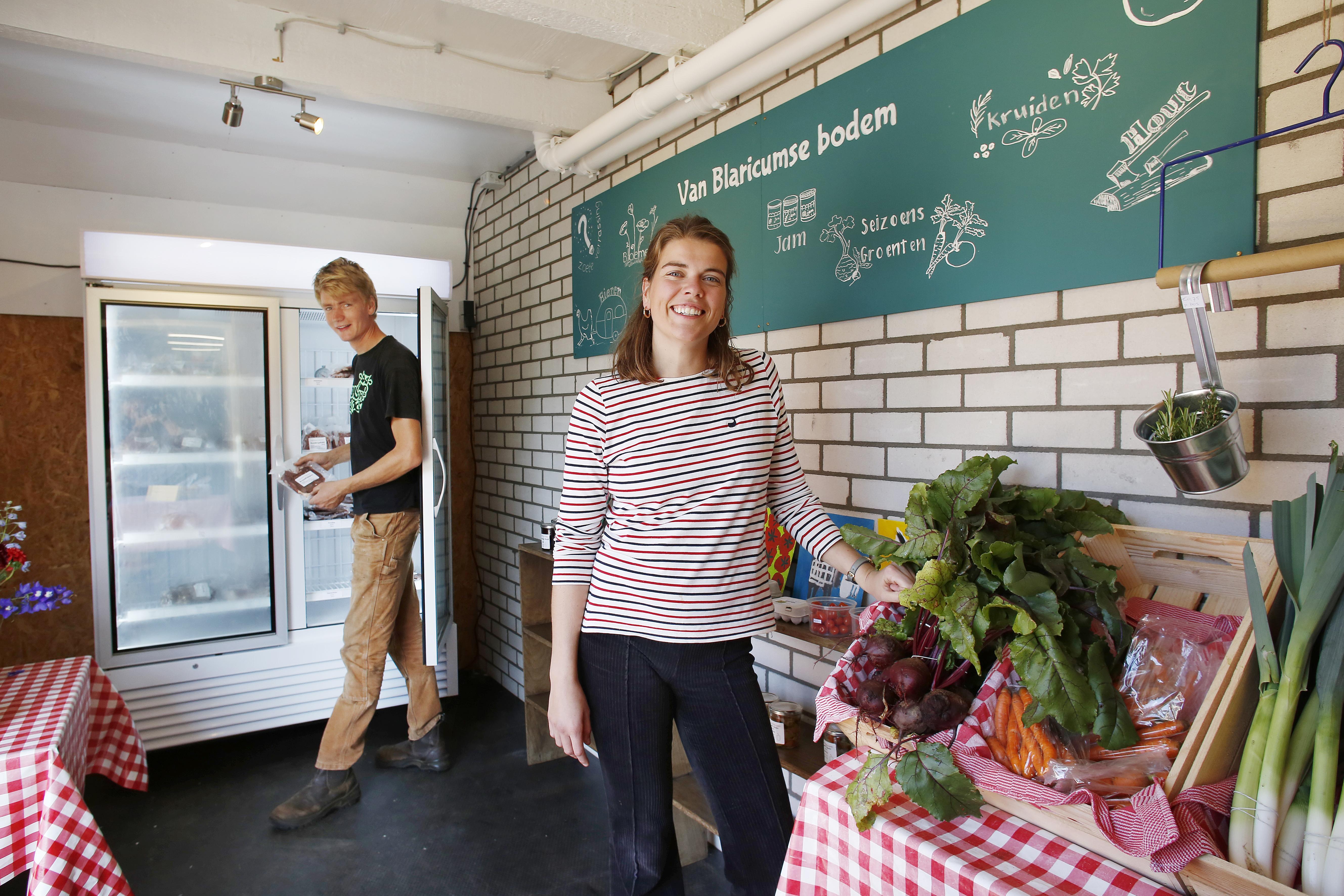 'Als het op is, is het op'. Boer Joep de Jong opent een winkeltje met producten van Blaricumse bodem.
