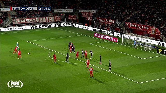 Bekijk hier de doelpunten uit de wedstrijden van AZ, Telstar, FC Volendam en Ajax [video]